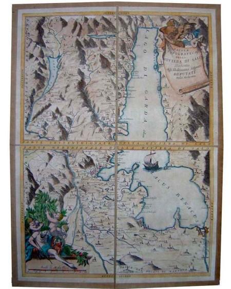Tavola topografica della Riviera di Salò